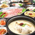料理メニュー写真サムゲタン(参鶏湯)
