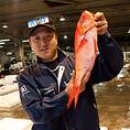宮崎魚市場『長谷川水産』から毎朝直送、歯ごたえ、鮮度抜群のお刺身は格別です♪