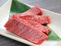 料理メニュー写真適度な脂肪と柔らかい肉質が味わえる稀少部位『特選ハラミ』