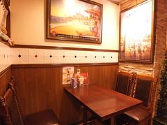 4名様テーブル一例