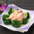 料理メニュー写真蟹肉とブロッコリーの炒め
