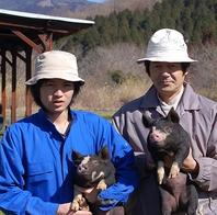 鹿児島県産の六白黒豚