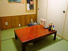 和風のお座敷個室でゆっくりと。