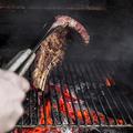 料理メニュー写真特選和牛イチボのレアステーキ