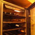 ボトルワインもオススメ!美味しお料理と一緒にワインをしっかり楽しみたい方にも◎ワインリストをご参照ください。