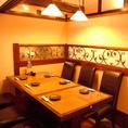 少人数でも使い勝手の良いテーブル席、個室をお探しのお客様には最適です。
