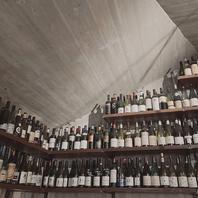 お好みのワインを見つけるのも楽しい!