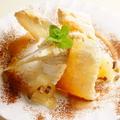 料理メニュー写真洋梨と栗のミルフィーユ