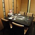 会食・接待・会社宴会におすすめな個室。最大で22名様でご利用いただけます。