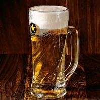 生ビール1杯199円(税抜)♪市ヶ谷の居酒屋でも有数の安さ