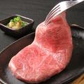 料理メニュー写真<特選>国産:黒毛和牛 極上ミスジステーキ(A5ランク)