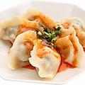 料理メニュー写真台湾風マーラー餃子