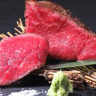 黒毛和牛など豪華食材を高コスパで愉しめる。