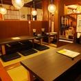 3階は4名様テーブルが1卓ございます。