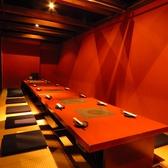 6名様用の座敷掘りごたつテーブルが3卓ございます。最大18~22名様までご利用可能です。