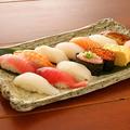 料理メニュー写真横綱にぎり寿司