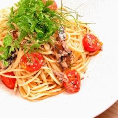鰯と松の実アーリオオーリオ スパゲッティ 80g