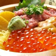 毎日仕入れる鮮魚は絶品。旬の食材取り揃えています