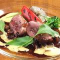 料理メニュー写真北海道産 合鴨胸肉のロースト 巨峰とクルミソース