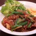 料理メニュー写真台湾チキン南蛮飯