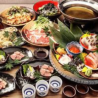 豪華★厳選食材コース各種ございます。