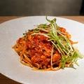 料理メニュー写真選魚ラグーのトマトソース リングイネ 80g