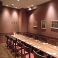 打ち上げ・商談・接待・会食など各種ご宴会ご会合におすすめの個室を多数ご用意しております!