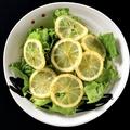 料理メニュー写真レモンのさっぱりサラダ