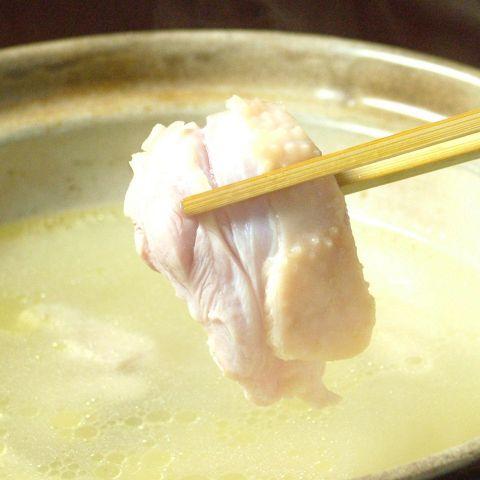 焼き鳥と鶏の水炊きコース 9品2320円(税込)※お料理のみ