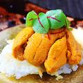 料理メニュー写真北海道産生ウニと焼きリゾット