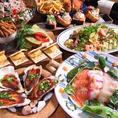 様々なシチュエーションで楽しめるコースを各種ご用意!牡蠣好きの為の牡蠣尽くしコースや、魚介満点のサカナコースなど♪♪クーポン利用でさらにお得に!!