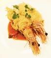 料理メニュー写真天使の海老のカダイフ麺巻き揚げ