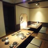【2階】中規模の宴会にも最適な掘りごたつ個室