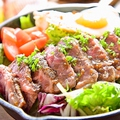 料理メニュー写真ビーフオーバーライス Beef over rice