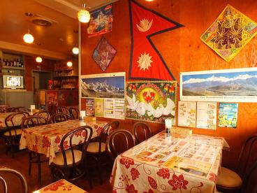 アジアンミントカフェの雰囲気1