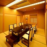 【完全個室】様々なシーンでご利用頂けるテーブル席。.