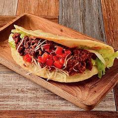 自家製タコス(2個) Homemade Tacos (2 Pieces)