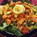 料理メニュー写真チキン サラダ Chicken Salad