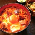 料理メニュー写真東京軍鶏の炭焼き親子丼