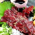 料理メニュー写真熊本県産!馬刺し 赤身