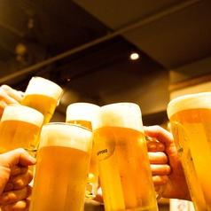 ビール片手に『乾杯』!!毎日、お客様でにぎわっております♪お客様のご要望に、可能な限りお応え致しますので、どしどしご連絡ください!!