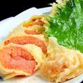 料理メニュー写真明太子の天麩羅