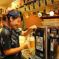 オリオンビールで乾杯♪飲み放題付コース3000円~☆