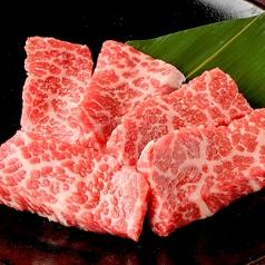 料理メニュー写真上カルビ (たれ/塩)