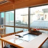 裏町田の風景も眺められる開放感のあるお座席。