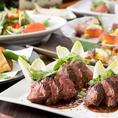 様々なシーンに最適な飲み放題付の宴会コースをご用意しております。楽蔵自慢の炙り料理や創作和食とともに日本酒や焼酎などのお酒をご堪能ください。様々なシーンに最適な宴会コースをご用意しておりますのでお客様の利用シーンに合わせてご活用頂けます。