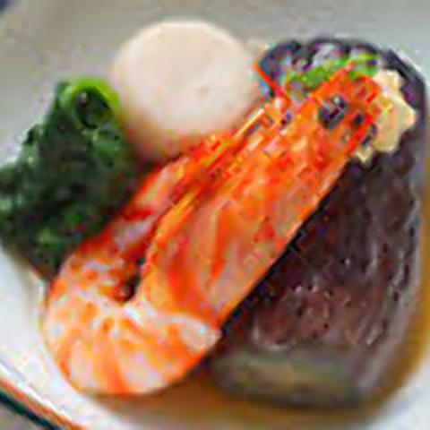 【個室確約】個室で贅沢ディナー!こだわりの旬のお料理全9品+食前酒付通常21,780円→18,300円