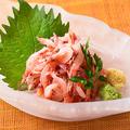 料理メニュー写真生桜海老のお造り