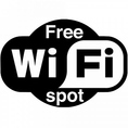 【FreeWi-Fi完備】FreeWi-Fiございます!お昼に仕事を行なうも良し。お子様に動画を見せて、ゆっくりお食事するも良し。ご自由にお使いください。