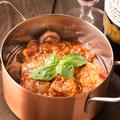 料理メニュー写真牛スジの濃厚トマト煮込み